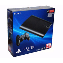 Playstation 3 Ultraslim 500gb+2 Joystick+hdmi+ Juego Local !