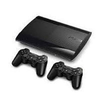 Play Station 3 500 Gigassuper Slim +2 Joystick + Cable Hdmi