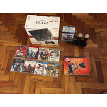 Play Station 3 + 2 Joystick + 2 Moove + 8 Juegos + Active 2