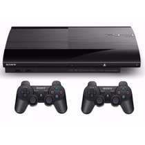 Play 3 Playstation 3 Ps3 500gb Ultra Slim 2 Joystick + Hdmi