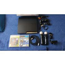 Ps3 Playstation 3 Flasheada Completa Move Caja