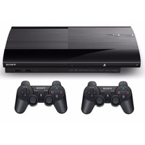 Sony Playstation 3 Ps3 500gb 2 Joysticks 1 Juego Ultra Slim