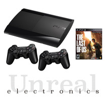 Sony Playstation 3 Ps3 500gb+2 Joysticks+hdmi+the Last Of Us