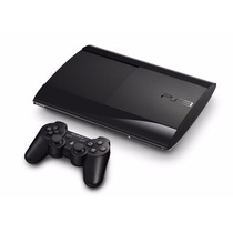 Play 3 Playstation 3 Ps3 500gb Ultra Slim Joystick Dualshock