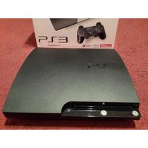 Playstation 3 120gb Flasheada+joystick+hdmi+6 Juegos+caja