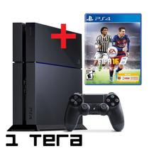 Sony Playstation4 1 Tera+juego Fisico A Elección - Gtia 1año