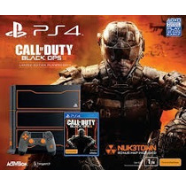 Playstation 4 500 Gb Ps4 Consola Call Of Duty 3,stock Hoy!!