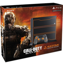 Playstation 4 1tb Edición Limitada Call Of Duty Black Ops 3