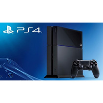 Playstation 4 500gb Negro C/2 Controles Nuevo!