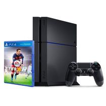 Playstation 4 500gb + Ea Sport Fifa 2016 Garantia Oficial