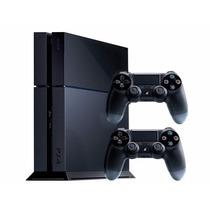 Playstation 4 C/2 Joystick De 500 Gb Bivolt +fifa 2016