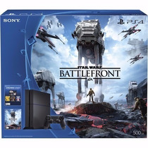 Playstation 4 Ps4 500gb - Star Wars Edition - Battlefront -