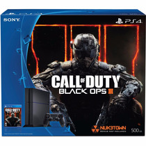 Playstation 4 500 Gb - Edicion Call Of Duty Black Ops 3 !!!