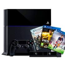 Ps4 Playstation 4 500gb + Control Dualshock + Camara + Juego