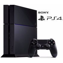 Playstation 4 Jet Black 500gb Ps4 Gtía Oficial Sony! New Mod