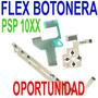 Repuesto Flex Botones Botonera Original Psp 1000 Fat