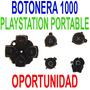 Repuesto Botones Botonera Original Psp 1000 Fat