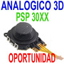 Repuesto Joystick Original Psp 3000 Slim Analogico 3d
