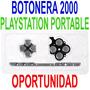 Repuesto Botones Botonera Original Psp 2000 Slim Plata