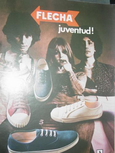 Publicidad Antigua Zapatillas Flecha Juventud Alpargatas