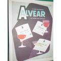 Publicidad Antigua Bebidas Vinos Champagne Alvear