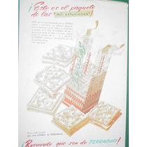 Publicidad Antigua Galletitas Expres Terrabusi Paquete Mod2