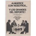 Publicidad Grafica Antigua : Programas Tv. Canal 7. Clipping