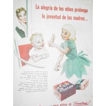 Publicidad Antigua Galletitas Manon Terrabusi Alegria Niños