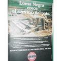 Publicidad Clipping Cemento Portland Loma Negra Argentina