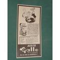 Publicidad Aceite Comestible Gallo Mezcla Extra Fino