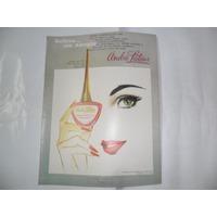 Andre Latour Esmalte De Uñas Cosmetica Publicidad 1967