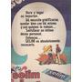 Publicidad Grafica Antigua : 3 Golosina Selim Noel
