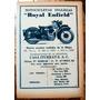 Moto Royal Enfield 1946 Publicidad Original Buenos Aires