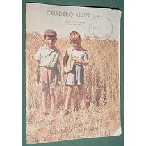 Catalogo Publicidad Criadero Klein 1956 Rural Campo 32 Pgs