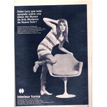 Antigua Publicidad Sillon Eero Saarinen Knoll International