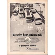 Antigua Publicidad Colectivos Mercedes Benz