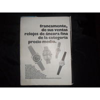 Camy Reloj Relojes De Ancora Fina Categoria Publicidad