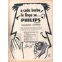 Antigua Publicidad Afeitadora Electrica Philips