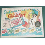 Publicidad Chicles Globo Chiclefort Felfort Firulete Mod. 3
