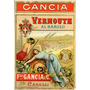 Carteles Antiguos Chapa Grue 20x30cm Vermouth Gancia Dr-164