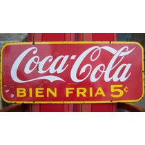 Historical*-cartel Enlozado Coca Cola 1.950 Canadá-75c-envío