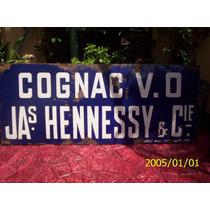Cartel Enlosado De Cognac