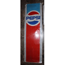 Antiguo Cartel De Chapa No Enlozado Pepsi