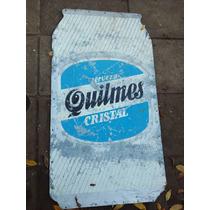 Cartel De Quilmes. Publicidad Propaganda Lata Cerveza 1 #339