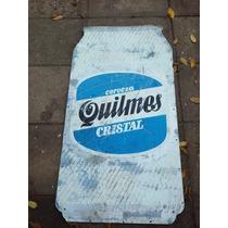 Cartel De Quilmes. Publicidad Propaganda Lata Cerveza 2 #340
