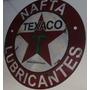 Cartel De Chapa Antiguo Nafta Texaco