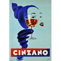 Carteles Antiguos Chapa Grue 20x30cm Vermouth Cinzano Dr-158