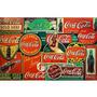 Carteles Antiguos En Chapa Gruesa 20x30cm Coca Cola Dr-359