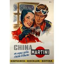 Carteles Antiguos Chapa Grue 20x30cm Vermouth Martini Dr-155