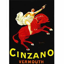 Carteles Antiguos Chapa Grue 20x30cm Vermouth Cinzano Dr-162